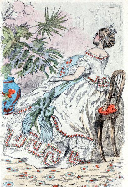 Mode 1862, ode in het negentiende-eeuwse Parijs, Henri Boutet, (1851 1919) van Liszt Collection