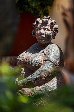 Statue Antillenfrau von Keesnan Dogger Fotografie
