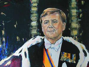 Koning Willem Alexander von Lucia Hoogervorst