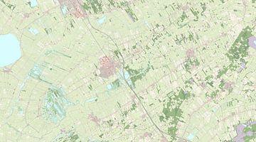 Kaart vanWeststellingwerf