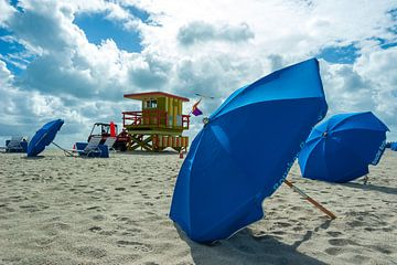 Beach time van Jos Krick Photography