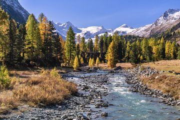Herfst in de Zwitserse Alpen van Achim Thomae