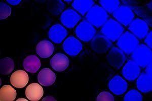 GLOW festival lampjeshemel van Greetje van Son