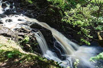 Podda Falls near Glen Affric in Scotland von Floris van Woudenberg