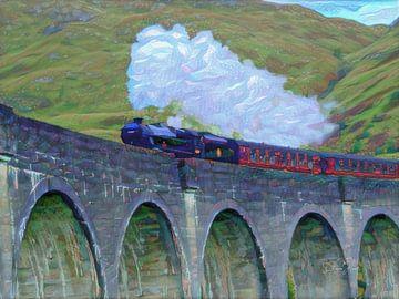 Hogwarts Express von Slimme Kunst.nl