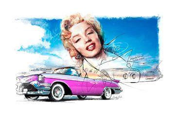 Cadillac Edorado (1953) von Martin Melis
