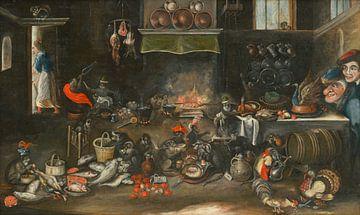 Affen in der Küche, Frans Francken (II)