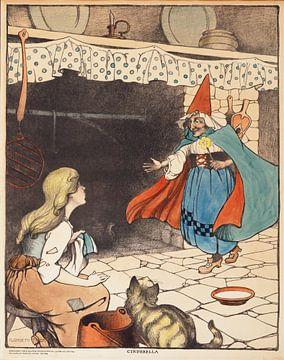 Assepoester, Elizabeth Tyler van Vintage Afbeeldingen
