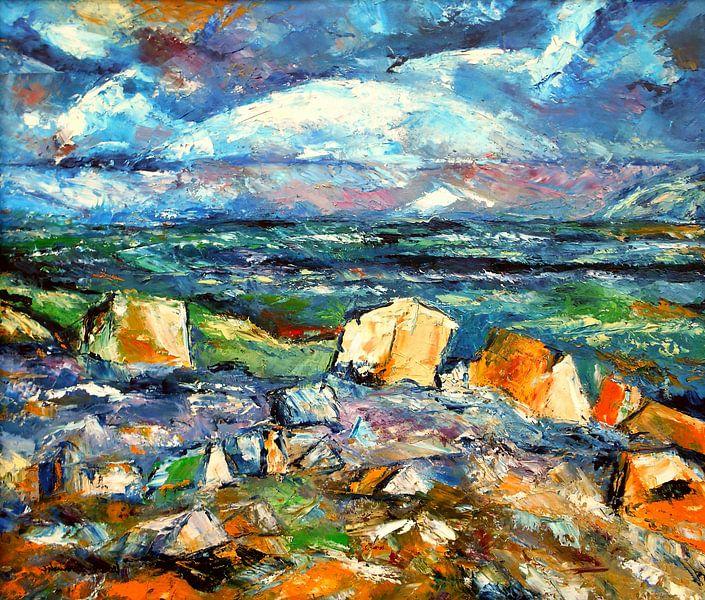 Nordische Landschaft von Eberhard Schmidt-Dranske