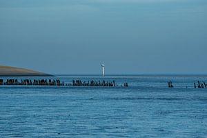 Waddenzee kust @Moddergat-Paesens (Friesland) van Roland's Foto's