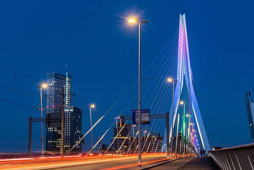 Le trafic laisse des traces sur le pont Erasmus sur