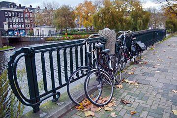 Autumn in Amsterdam sur Silva Wischeropp