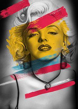 Marilyn Monroe van Rudy en Gisela Schlechter
