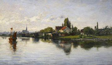 Dorf Schliersee, Hochland, Theodore Clement Steele