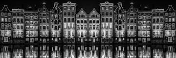 Amsterdam Damrak doppelt verspiegelt von Robin Scholte