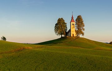 Kirche von Sveti Thomas in Gorenj, Slowenien von Adelheid Smitt