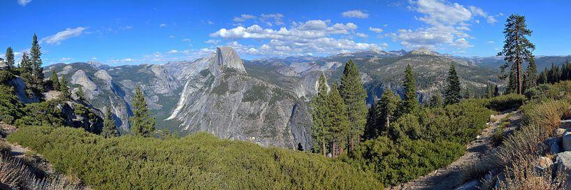 Yosemite National Park, Panorama von Paul van Baardwijk