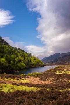 Glen Strathfarrar nabij Beauly, Invernes-shire, Schotland