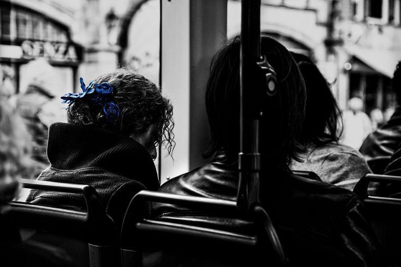 Feeling blue in Amsterdam van Maarten Kuiper