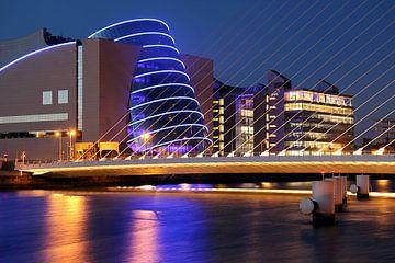 Dublin bij nacht van Patrick Lohmüller