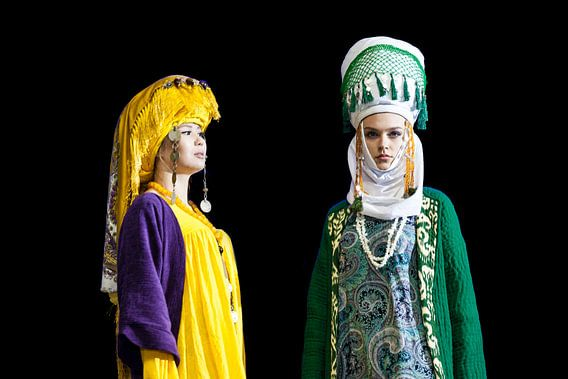 Modeshow Kirgizië