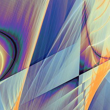 Abstracte samenstelling 467 van Angel Estevez