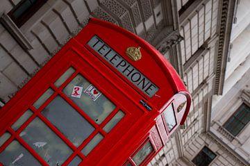Telephonebox Londen von Babette van Gameren