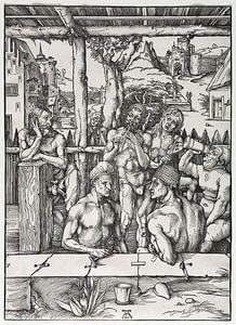 Das Herrenbadehaus, Albrecht Dürer