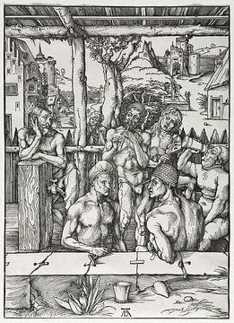 Het mannenbadhuis, Albrecht Dürer van De Canon