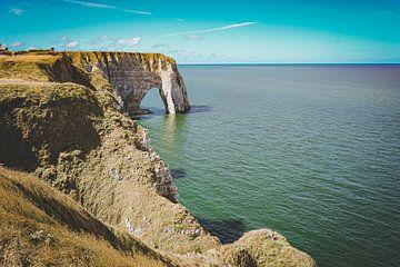 Die Klippen von Etretat, Normandie, Frankreich (4) von Daphne Groeneveld