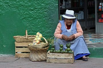 Op de markt sur Antwan Janssen