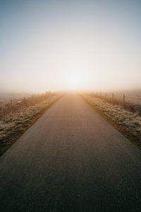 Middelburg cold sunrise 4 van Andy Troy