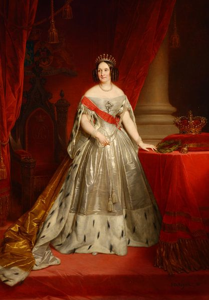 Anna Pawlowna Königin von Russland von Diverse Meesters