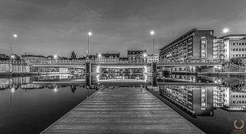 Maastricht Bassin Zwart Wit van Danny Bartels