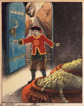 Aladdin und die wunderbare Lampe, Elizabeth Tyler von Vintage Afbeeldingen