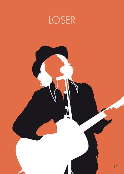 No123 MY Beck Minimal Music poster van Chungkong Art
