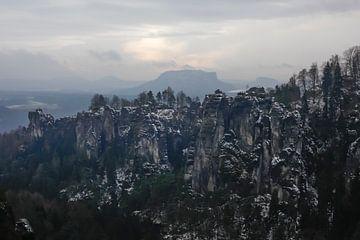 Elbsandsteingebirge van Thomas Jäger