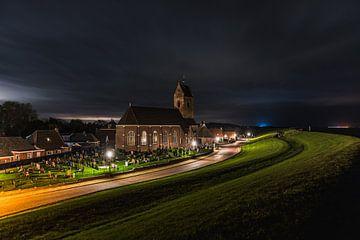 Kerkje Wierum van Douwe van der Leij