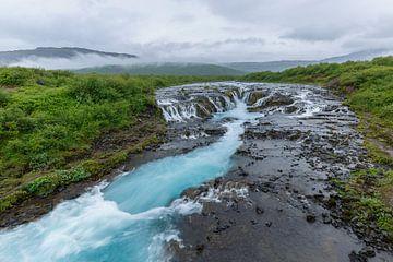 Bruarfoss IJsland van Menno Schaefer