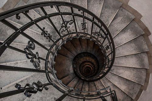 Oude spiraal trap van Lila Lizz