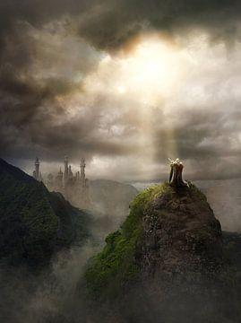 ridder op berg van Markus Bieck