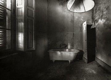 Badewanne auf Beinen einfarbig von Olivier Van Cauwelaert