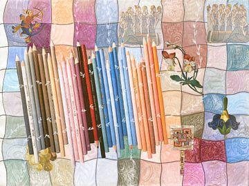 kleurpotloden van Hella Kuipers