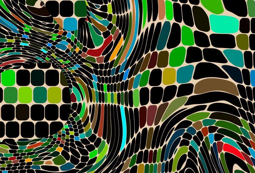 Tiles and waves van Rosi Lorz