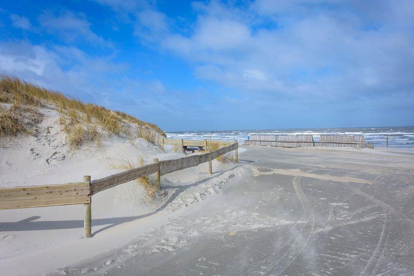 Strandopgang Buren op Ameland van Marjan Noteboom