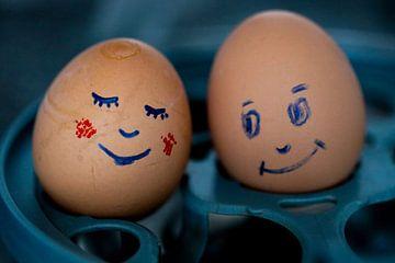 Verliebte Eier von Ken Huysmans