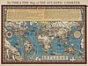"""The """"time and tide"""" map of the Atlantic charter van Rebel Ontwerp thumbnail"""