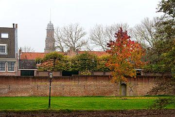 Stadsmuur IJsselstein van Theo ter Horst
