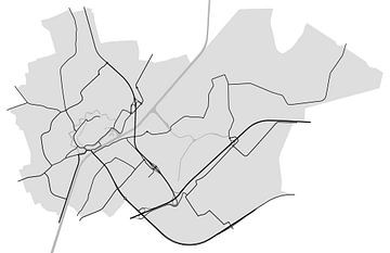 Middelburg van Drawn by Johan