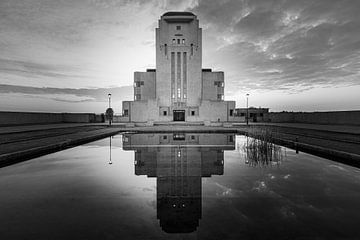 Radio Kootwijk in zwart-wit van Henk Meijer Photography